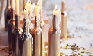 8 Grandiosas Maneras De Reutilizar Las Botellas De Vidrio