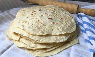 Prepara Tortillas Para Burritos, Fajitas o Quesadillas