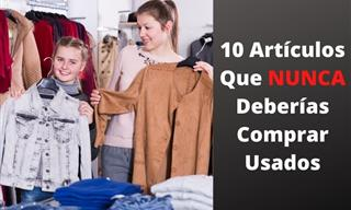 10 Artículos Que Es Mejor No Comprar De Segunda Mano