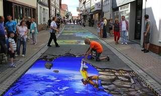 ¡Calles Con Diseños RealistasIncreíbles!