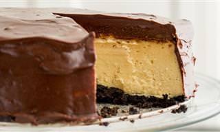 Endúlzate La Vida Con Este Cheesecake Relleno De Baileys