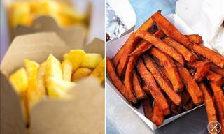 ¿Cuáles Son Más Saludables Las Papas o Las Batatas?