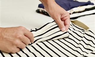 Aprende a Doblar Tus Suéteres o Jerseys De Forma Adecuada