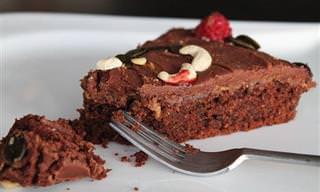 Bizcocho De Chocolate Libre De Gluten