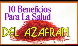 Beneficios Para La Salud Del Azafrán