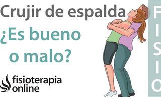 Video: ¿Qué Sucede Cuando Cruje La Espalda?