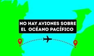 ¿Por Qué Los Aviones No Vuelan Sobre El Océano Pacífico?