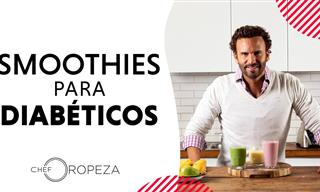 El Chef Oropeza Nos Prepara 3 Licuados Para Diabéticos