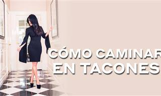 Aprende a Caminar Con Zapatos De Tacón
