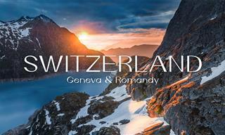 Disfruta De Un Impresionante Recorrido Aéreo Por Suiza