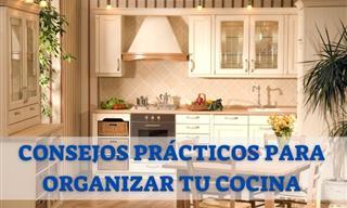 6 Consejos Para Mantener Tu Cocina Organizada y En Orden