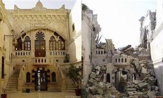 Con Un Sólo Clic Descubre Siria Antes y Tras La Guerra