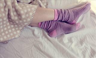 Nunca Más Te Quitarás Los Calcetines Para Dormir