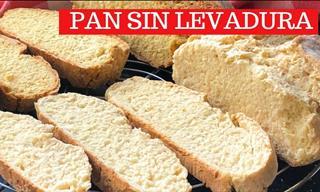 Un Pan Sin Amasar y Sin Levadura Listo En 30 Minutos