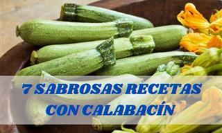 7 Deliciosas Recetas Con Calabacín Para Consentir a Tu Familia