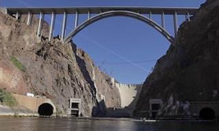 """El """"Hoover Dam"""" o El Gran Puente Sobre El Río Colorado"""
