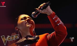 Formidable Interpretación En La Voz EE.UU De Música De Mariachi