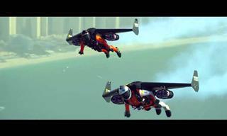 La Tecnología Permite a Estos Jóvenes Volar Sobre Dubai