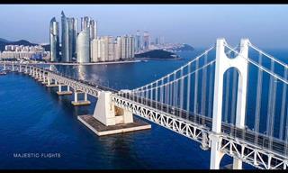 Vuela Sobre Corea Del Sur y Aprécialo Como Nunca Antes