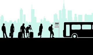 Chiste: Un Autobús Lleno De Gente y Un Invidente