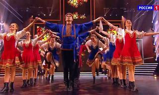 Una Magnífica Interpretación De Danza Folclórica Rusa