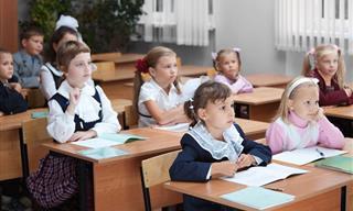 Divertido: Putin Visita Una Escuela
