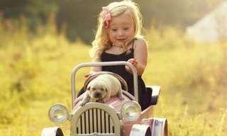 La Tierna Relación Entre Niños y Animales