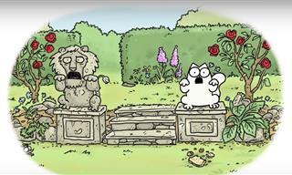 Divertido Corto Animado: El Gato De Simon y El Camuflaje