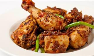 Pollo a La Pimienta: Perfecto Para Comer Fuera De Casa
