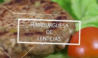 Hamburguesas Saludables De Lentejas