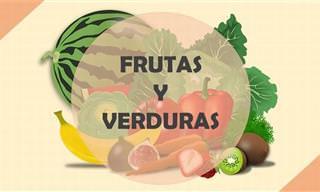 ¡La Información Más Importante Sobre Frutas y Vegetales!