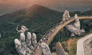 ¡El Puente De Oro En Vietnam Te Encantará! Alucinante