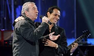 Genial Actuación De J. Luis Perales Junto Con Marc Anthony