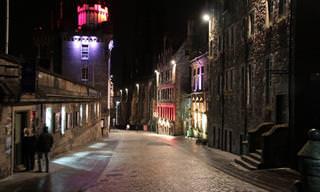 Esto Es Lo Que Sucede En Escocia Cuando Llega La Noche...