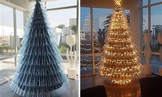 19 Árboles De Navidad Originales Y Graciosos