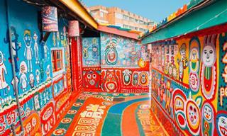 10 Fascinantes Lugares En El Mundo Llenos De Encanto y Color
