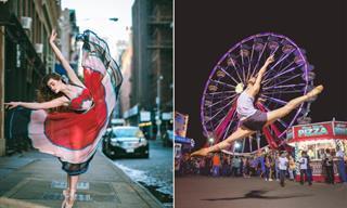 15 Fotografías Del Creativo, Hermoso y Fascinante Ballet Callejero