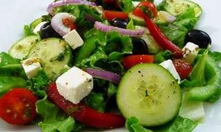 ¡Una Ensalada Deliciosa, Saludable y Fresca!