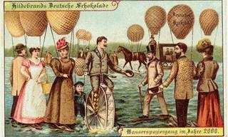 12 Postales De 1900 Que Predijeron El Futuro De Hoy En Día