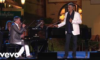 Maravillosa Interpretación De Andrea Bocelli: Bésame Mucho