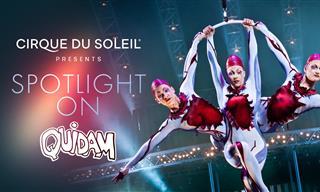Disfruta De Un Fabuloso Espectáculo Clásico Del Cirque du Solei