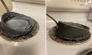 Divertidas Fotografías De Desastres En La Cocina