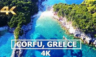 La Naturaleza y La Belleza De Corfú En Grecia