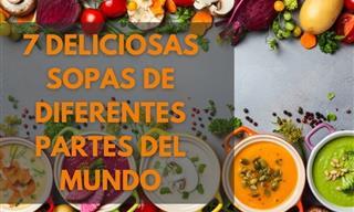 Aprende a Preparar Deliciosas Sopas De Diferentes Partes Del Mundo