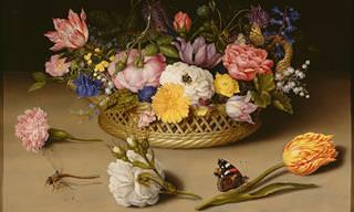 14 Pinturas Florales Mundialmente Famosas