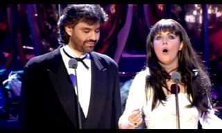 Es Tiempo De Decir Adiós Con Andrea Bocelli