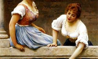 La Belleza de Italia En Las Obras de Eugenio De Blaas