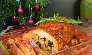 Lomo de Cerdo Relleno Adobado: Recetas De Navidad