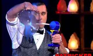 ¡Conoce Al Sorprendente Encantador De Burbujas!
