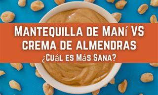 Mantequilla De Maní y Crema De Almendras: ¿Cuál Es Más Sana?